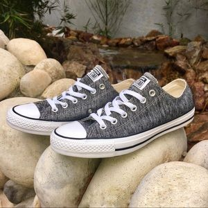 Speckled gray converse all star sneakers